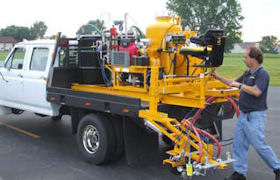 Optional drums & hydraulic power steer