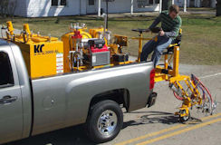 2000-AL Palletized Air Atomized Striper