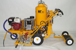 Model B4 Self Propelled, Double Line Striper