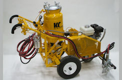 Heavy Duty Model C With Traction Self Propelled Striper