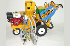 Heavy Duty Power Stroke Self Propelled Airless Striper